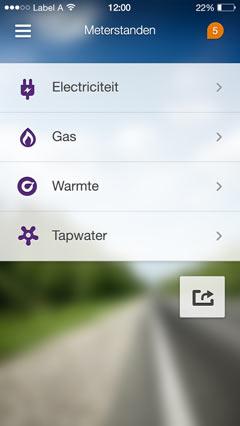 GUI design visual UX visual digital screen nutbeydesign amsterdam