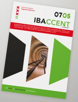 Identity design IBA Amsterdam / cover magazine