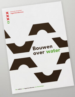 Corporate branding visual design iba ingenieursburea amsterdam designer carmen nutbey nutbeydesign