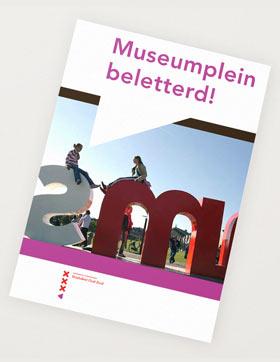grafisch vormgeving leaflet