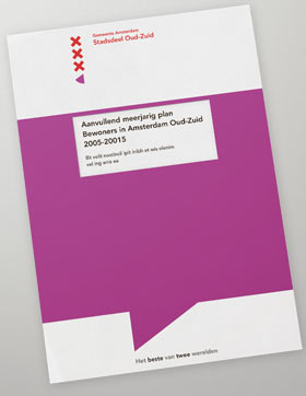 Visual design report amsterdam oud-zuid