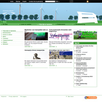 visual webdesign Gemeente Almere afdeling Stad