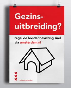 poster campagne abri muppi amsterdam carmen nutbey design