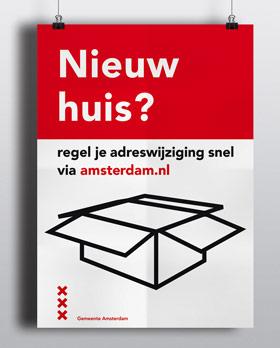 vormgeving ontwerp poster campagne nutbeydesign