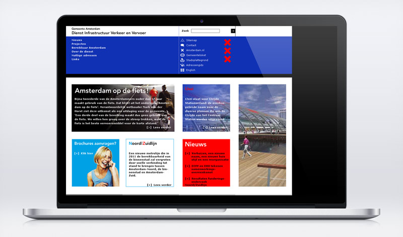 Corporate design amsterdam visual web IVV