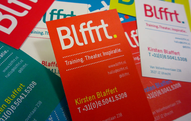 Stationary Huisstijl Blffrt. Blaffert Corporate_Design