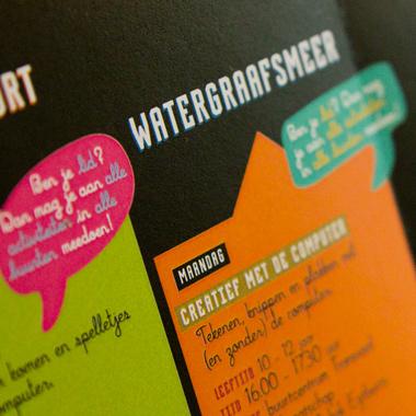 grafisch ontwerp detail, poster, affiche, programma