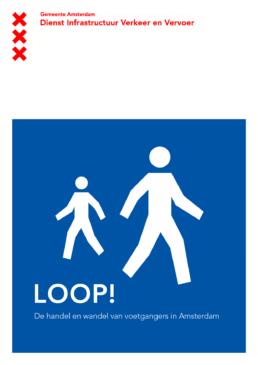 corporate identity amsterdam dienst infrastructuur verkeer en vervoer - designer carmen nutbey