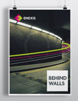 poster enexis corporate identity
