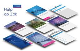 visual design ui app Hulp op Zak app Europeesche verzekeringen nutbeydesign carmen nutbey amsterdam