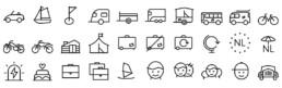 pictogram icoon pictogrammen beeldtaal ontwerper carmen nutbey nutbeydesign amsterdam graphic visual designer