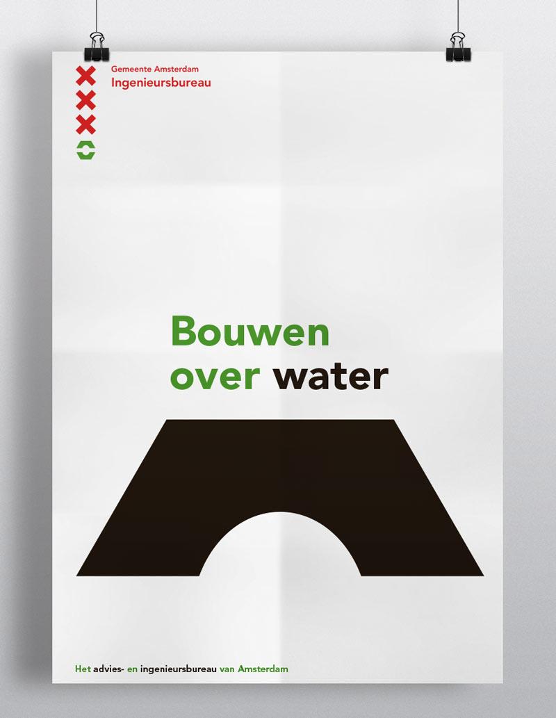 Grafisch ontwerp affiche IBA