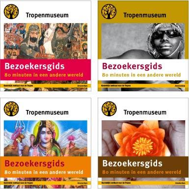 design cover bezoekersgids Tropenmusem