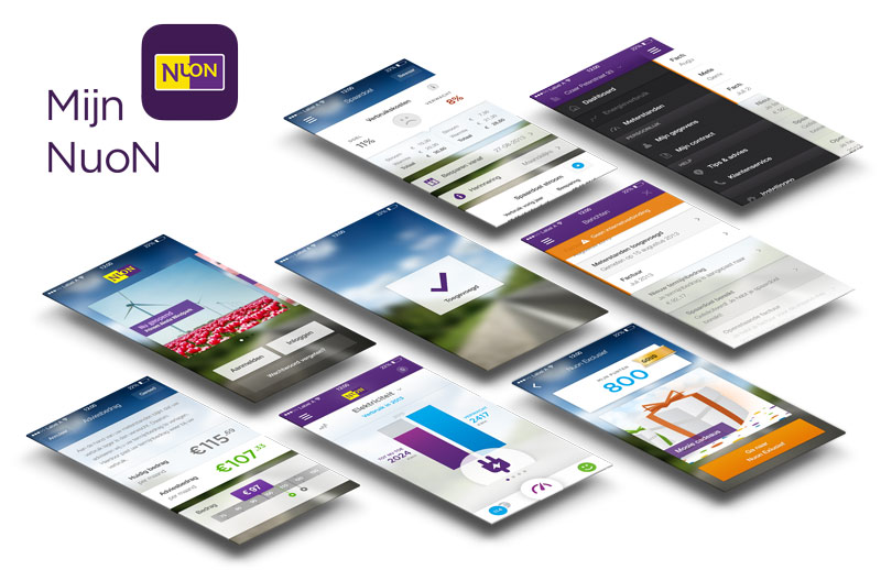 Nuon applicatie ontwerp GUI kit Carmen Nutbey Design Visuals Pictogrammen App Icon