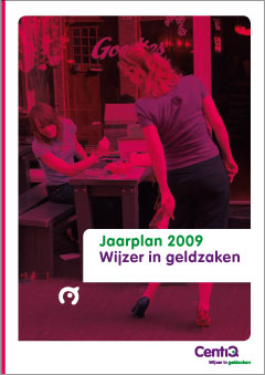 Ontwerp, visual design rapporten brochures Wijzer in Geldzaken