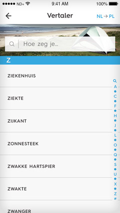 ontwerp mobile app visueel nutbeydesign amsterdam gui