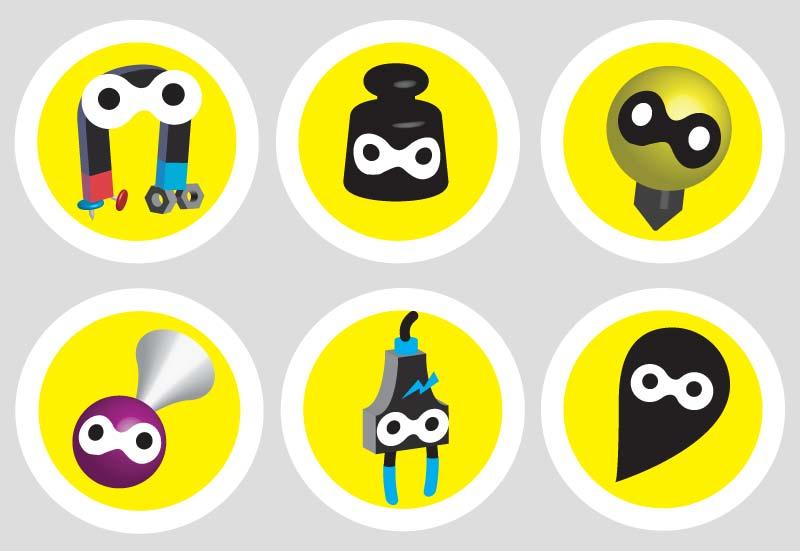 illustration iconen ontwerper designer illustrator Carmen Nutbey Amsterdam