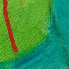 detail schilderij kunstschilder Carmen Nutbey
