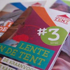 graphic design serie affiches en programmaboekjes