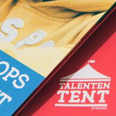 visual design leaflet maandladder programma nutbeydesign amsterdam