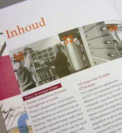 editorial design Inhoudsopgave Jaarboek Twynstra Gudde