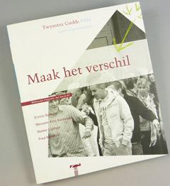 corporate design coverdesign concept binnenwerk Villa Jaarboek van Twynstra Gudde