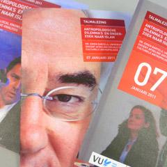 grafisch ontwerp VU_Amsterdam uitnodiging