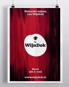 WijnDok branding; grafisch ontwerper nutbeydesign Amsterdam