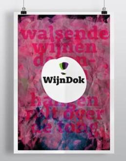 Affiche; design grafisch ontwerper Carmen Nutbey uit Amsterdam