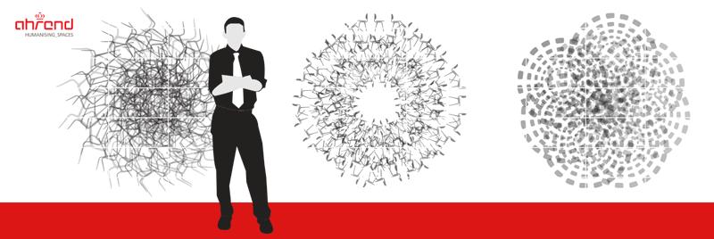 designwand illustratie revolt stoel ahrend nutbeydesign