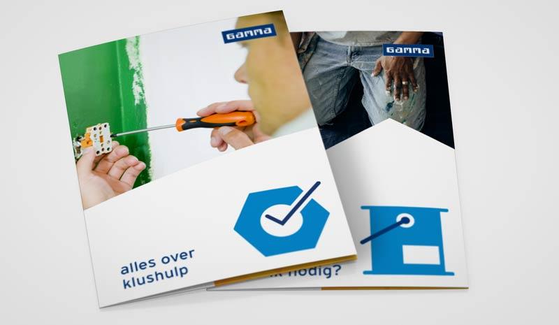 bouwmarkt gamma beeldtaal ontwerp nutbeydesign amsterdam