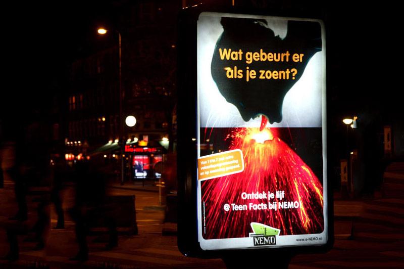poster abri nemo campagne grafisch ontwerper nutbey design